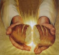 Jesus o pão da ressureição!