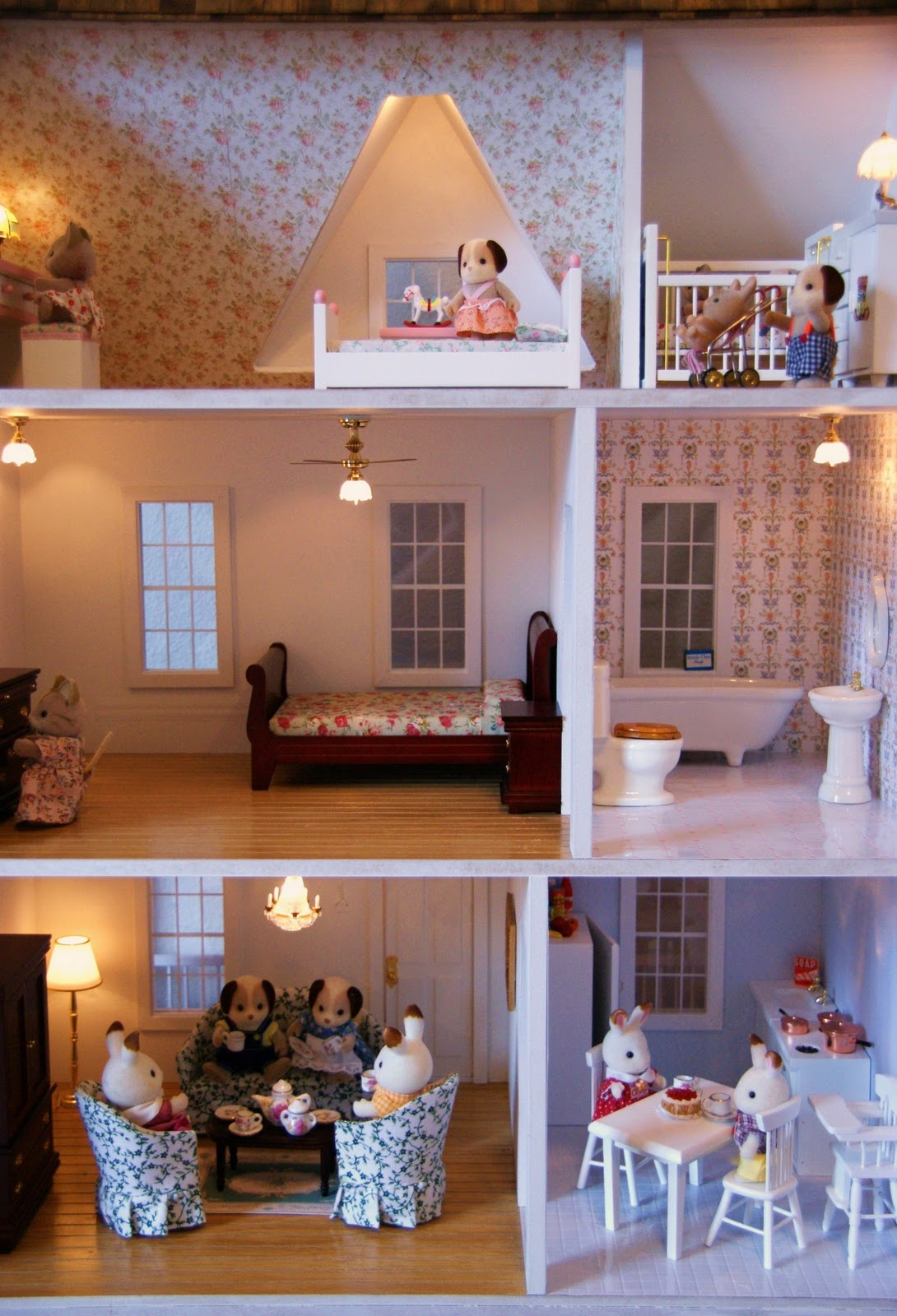Dollhouse Kitchen Furniture Similiar Hobby Lobby Doll Bed Keywords