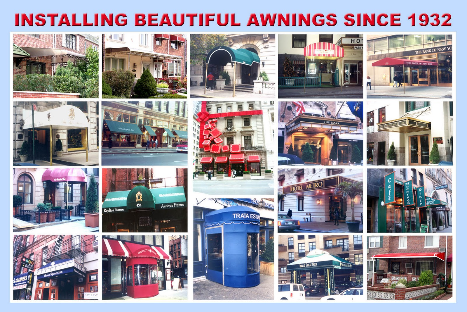 GLENDALE AWNING COMPANY A Division Of PHK Group Inc