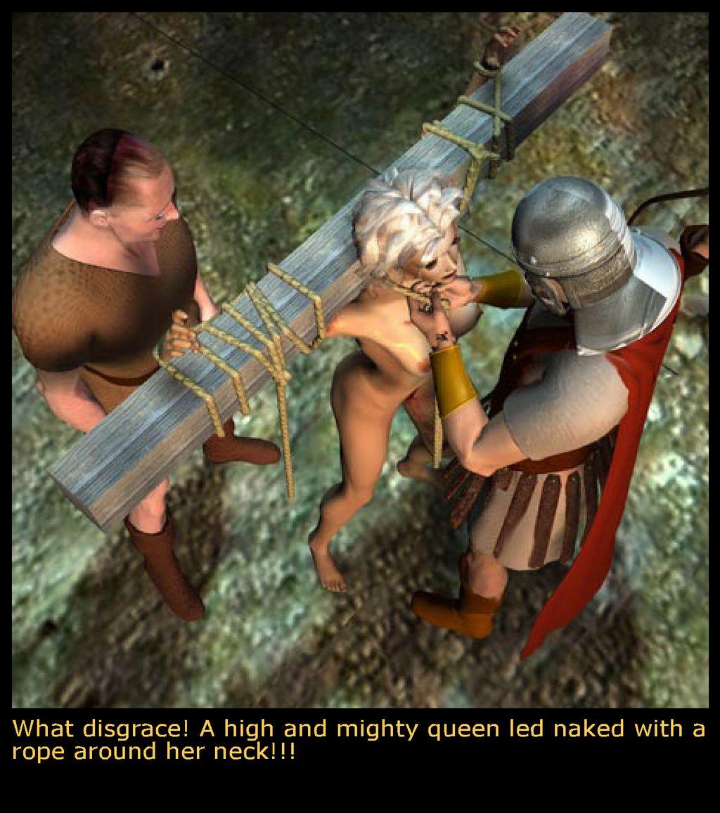 Barbarian queen big tits sex scene