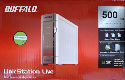 Test: NAS Buffalo Linkstation Live