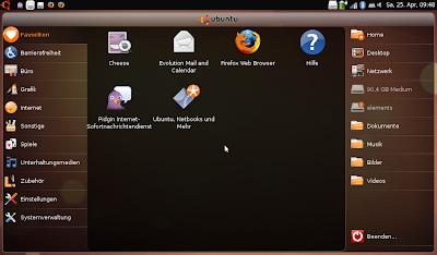 Ubuntu Netbook Remix - Maximus konfigurieren