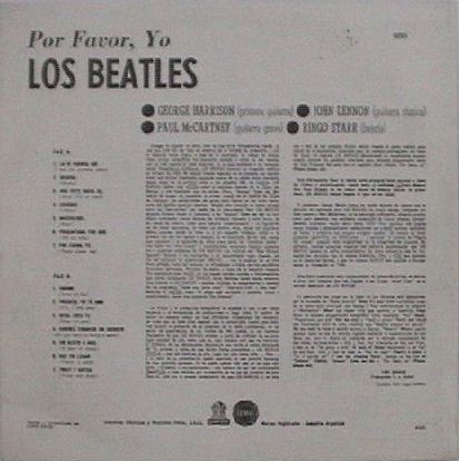 Los Beatles Por Favor Yo