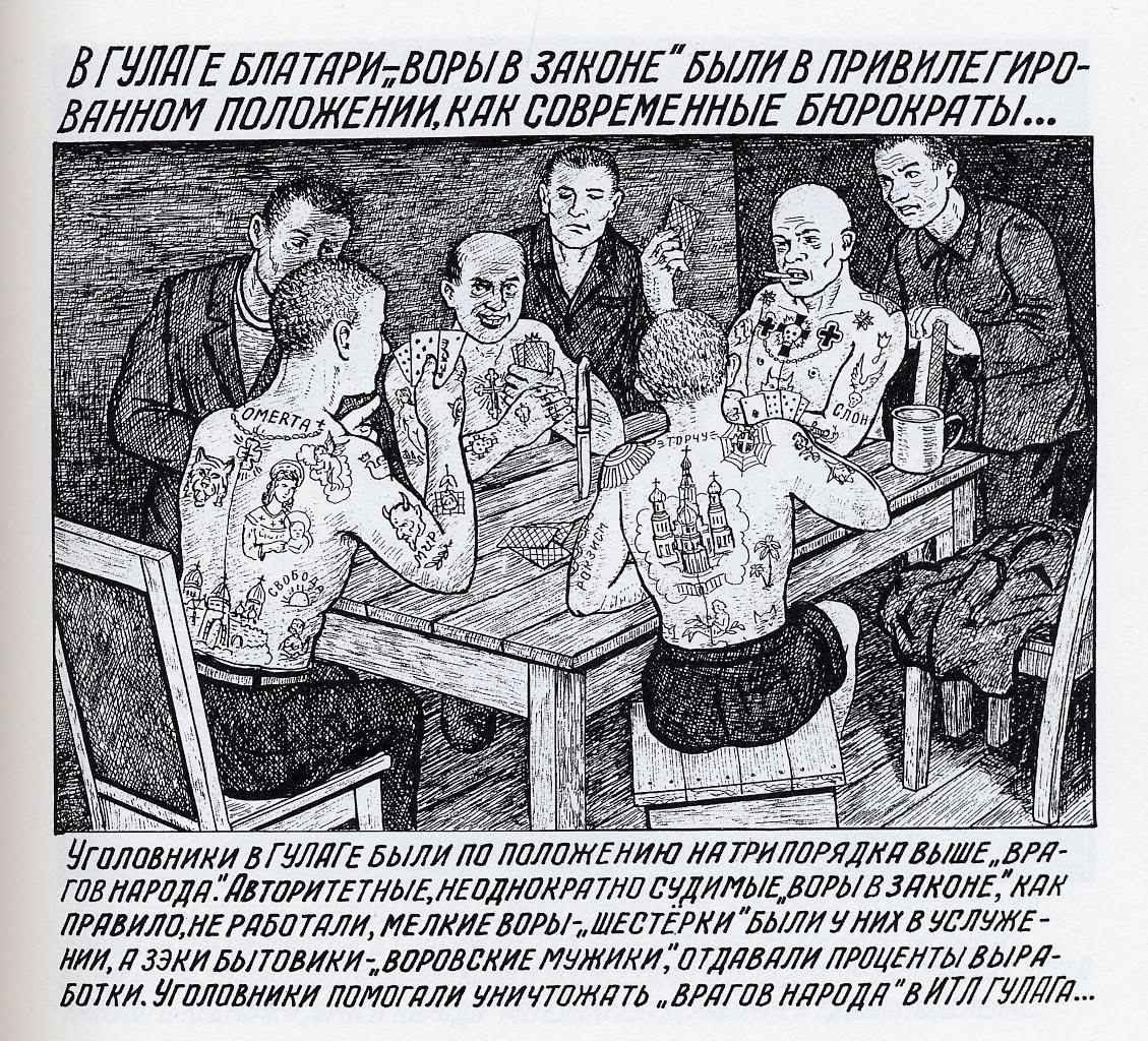 Brutal!!! Drawings from the GULAG -