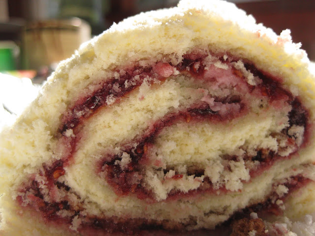 "... Jelly Roll (Adapted from ""The Joy of Cooking"" by Irma Rombauer"