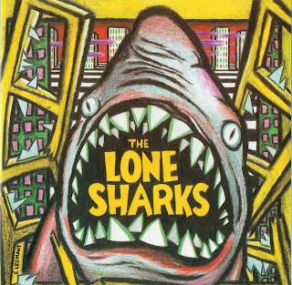 The Lone Sharks - The Lone Sharks - Mini CD Demo - 1995