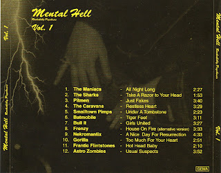 Mental Hell - Rockabilly Psychosis Vol.1 - 1995