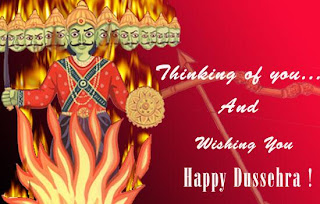 Printable Dussehra Wishes