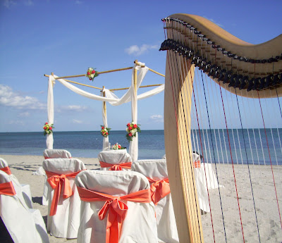 Miami Harpist for Beach Weddings