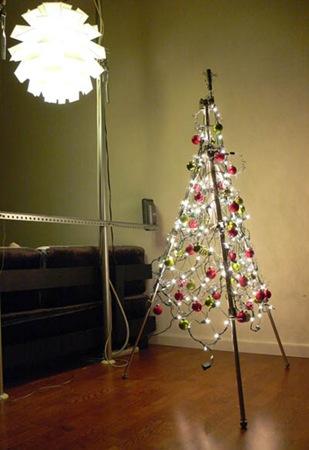 Diciembre 2010 lascafe - Arbol de navidad hecho de luces ...
