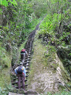 Putucusi on the way from Salkantay to Macchu Picchu