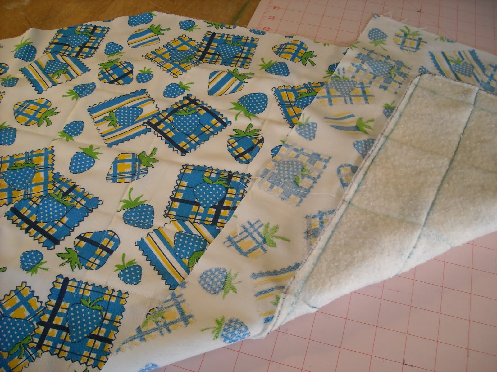 how to make an ironing board for quilters