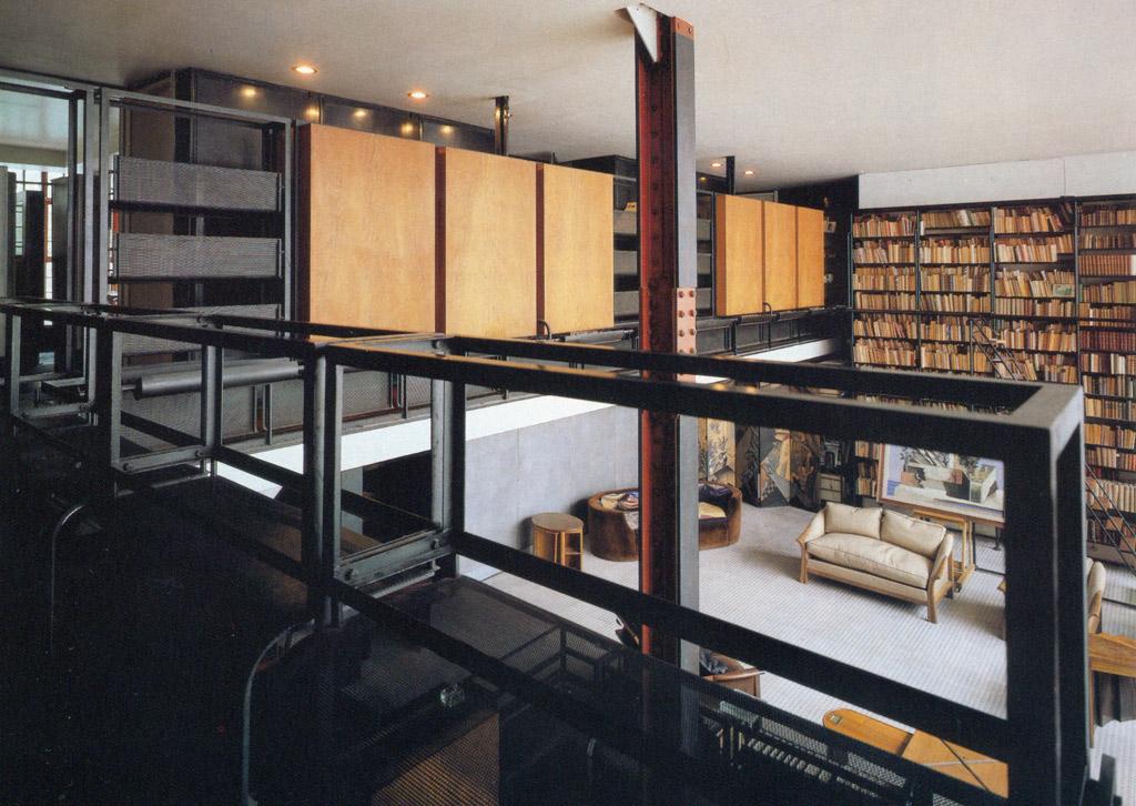 arquitectura historia el primer loft moderno la maison dalsace du verre de p chareau y b. Black Bedroom Furniture Sets. Home Design Ideas
