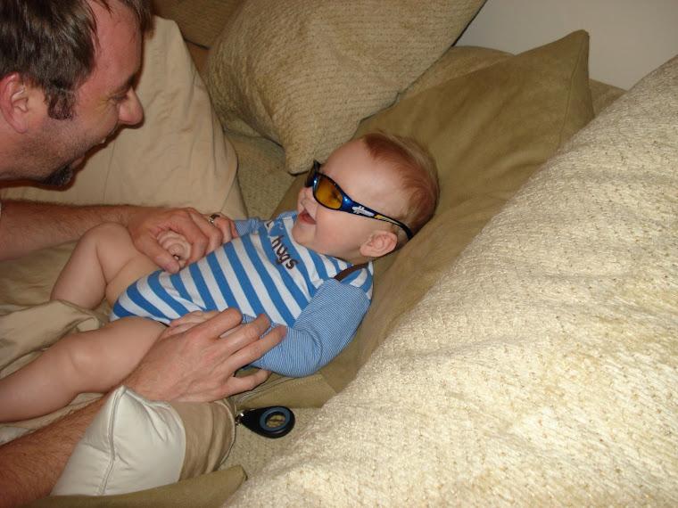 Wyatt in his sunglasses