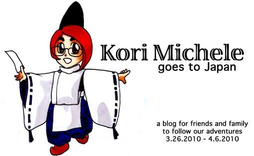 Kori Goes to Japan