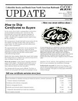 January 2009 Coxrail newsletter