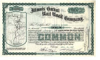 Illinois Central Railroad certificate