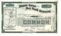 Illinois Central Railroad certificate