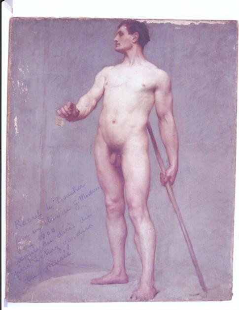 Shelf 19th century nude men can