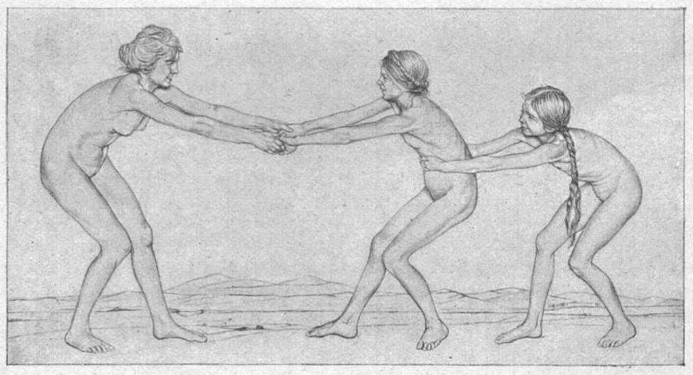 (German) Adolescent Female Nudes