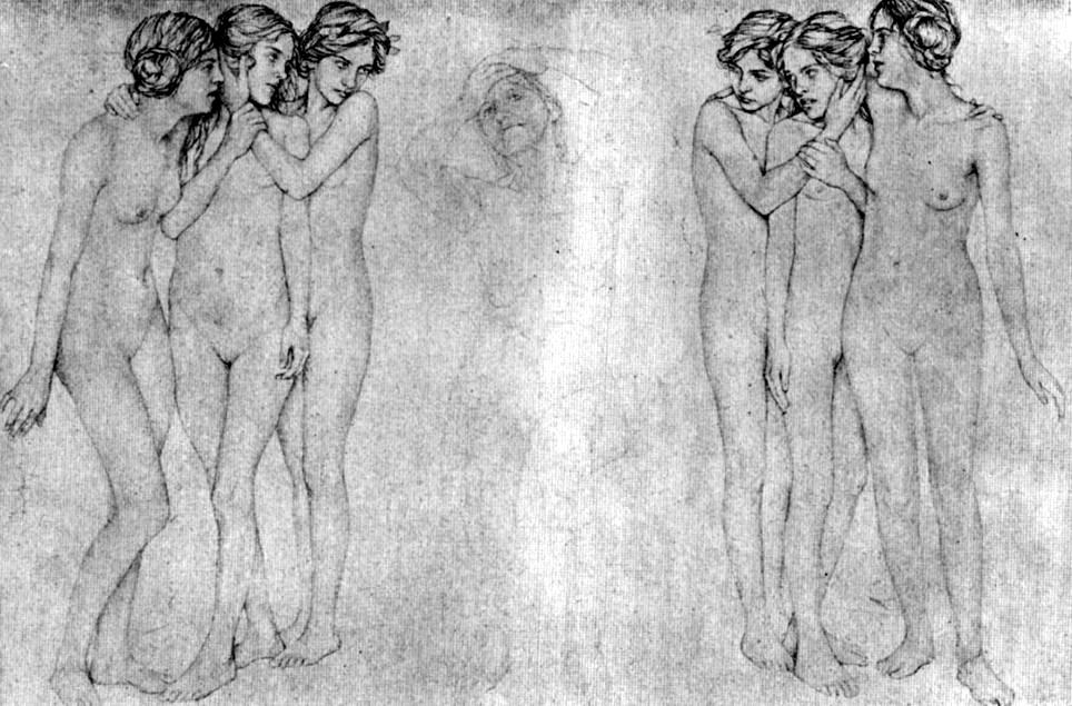 19th century ida teichmann 1875  german adolescent female nudes
