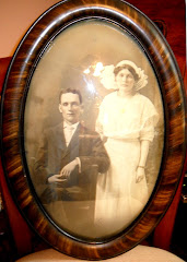 Grandpa and Grandma Brown, July, 1913