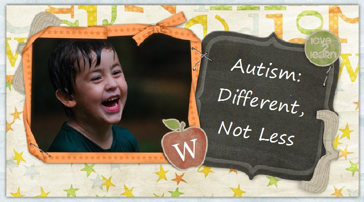Autism:Different, Not Less