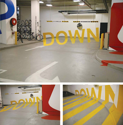 In Melbourne I developed a way-finding-system for the Eureka Tower Carpark while working for Emery Studio.