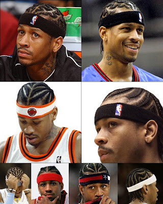 Allen Iverson Cool Mens Cornrow Hairstyles llen Iverson Hairstyles typically
