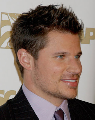 Cool male haircuts Nick Lachey Short Spiky Hairstyle