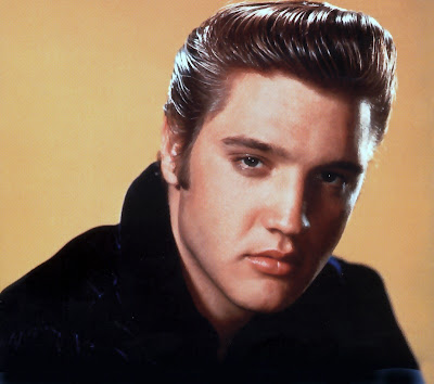 Elvis Presley rockabilly hairstyle