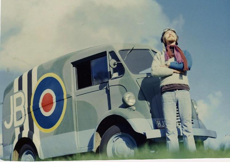 A rare air force JB van.