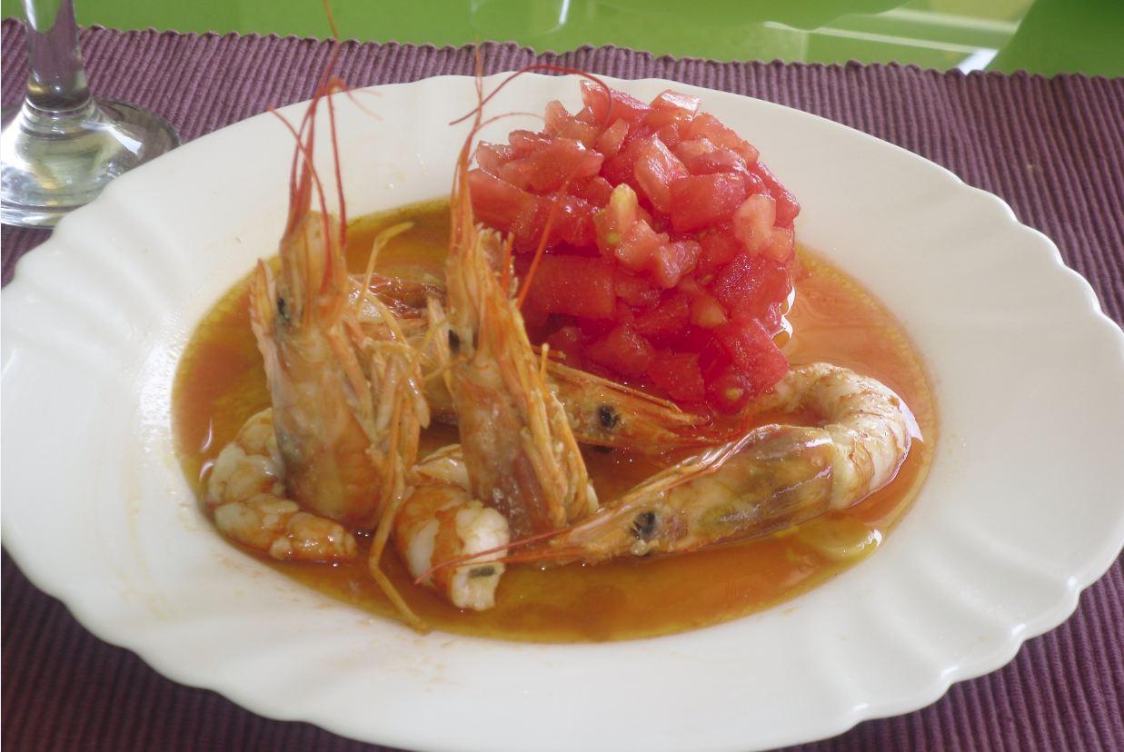 Crema de langostinos y carabineros con trufa y aceite de tartufo by El Señor Martin