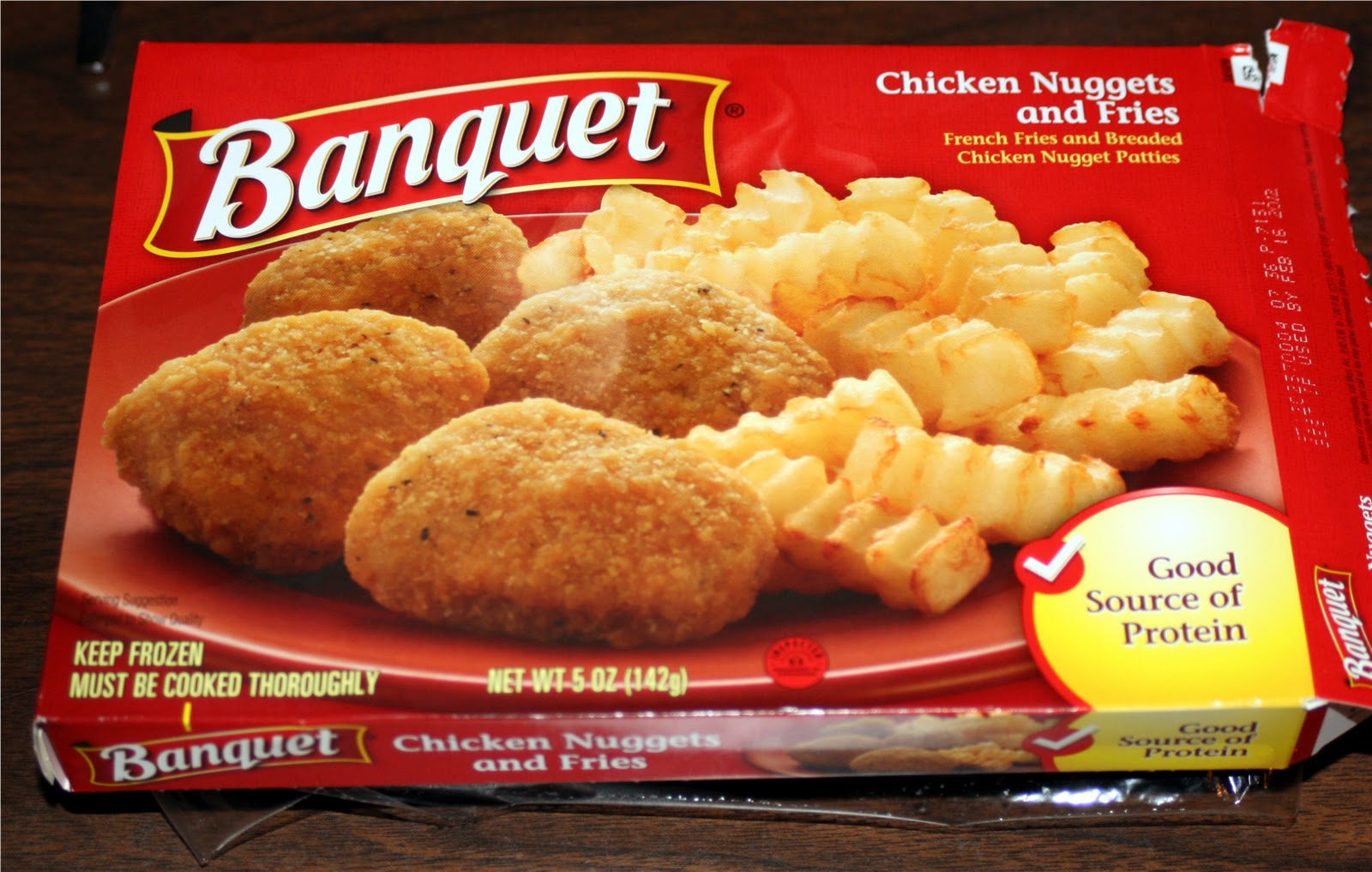 A Critique of Banquet's Chicken Nuggets and Fries