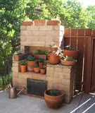 Herb garden image