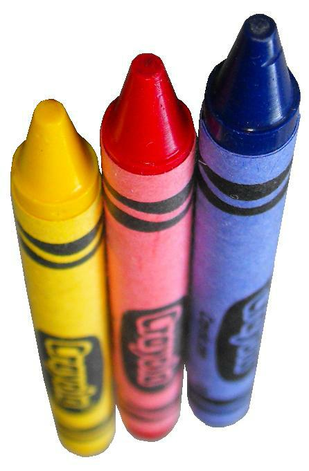 how to get crayon off of plastic