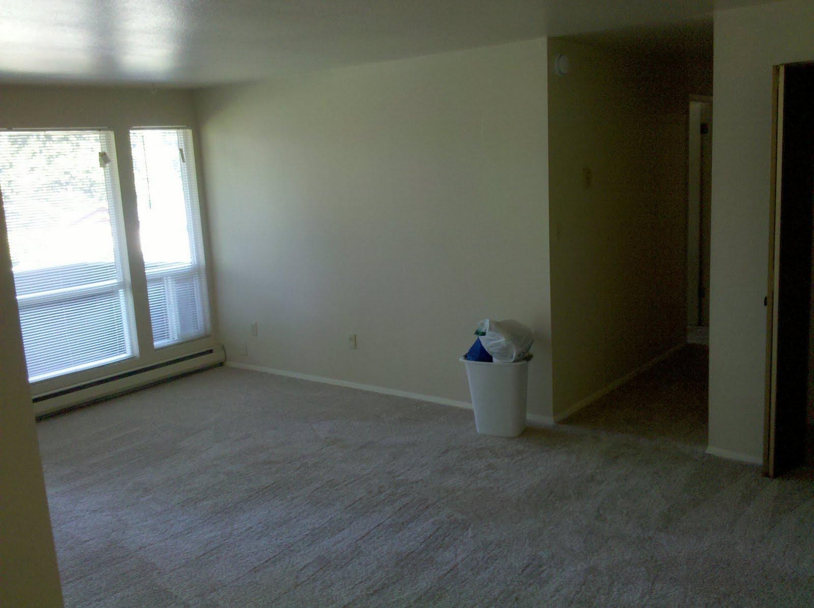 Adventures in Seattle Empty Apartment