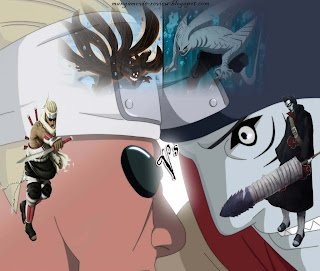 killer bee vs kisame