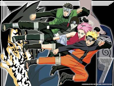 team 7, naruto, sai, sakura, yamato