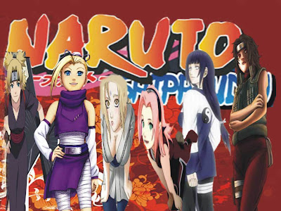 Tsunade, Sakura, Ino, Kurenai, Hinata, Anko and Temari