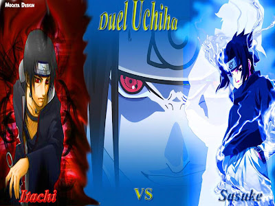 Itchi Vs Sasuke, wallpapers