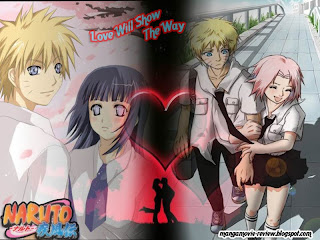 Naruto High School Love story
