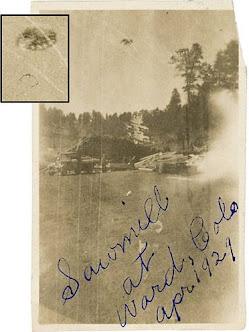 April, 1929. Ward, Colorado.
