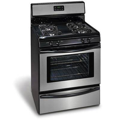 Cleaning a hard to clean gas stove top - Clean gas range keep looking new ...