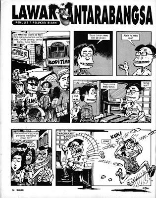 lawak antarabangsa lawak giler lawak nak mampos kelakar giler funny cartoon jokes ketawa lawak majalah ujang