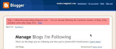 unfollow blog
