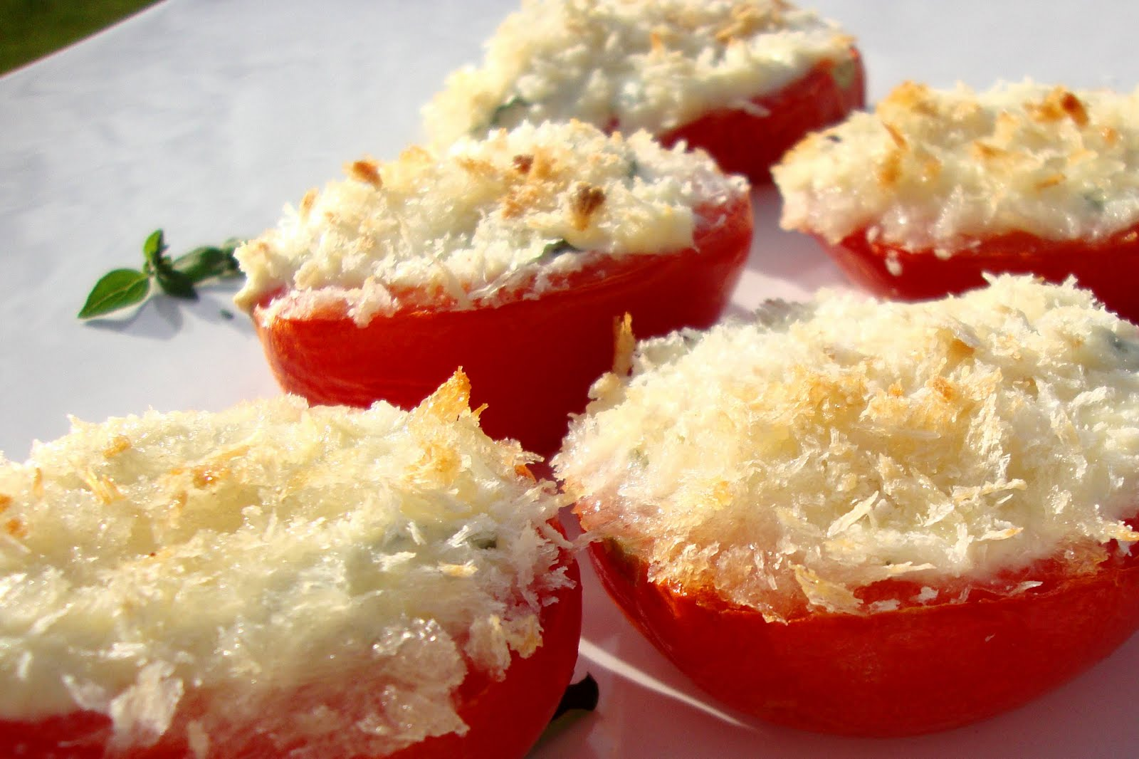 Recipe for Delicious: Ricotta-stuffed Tomatoes