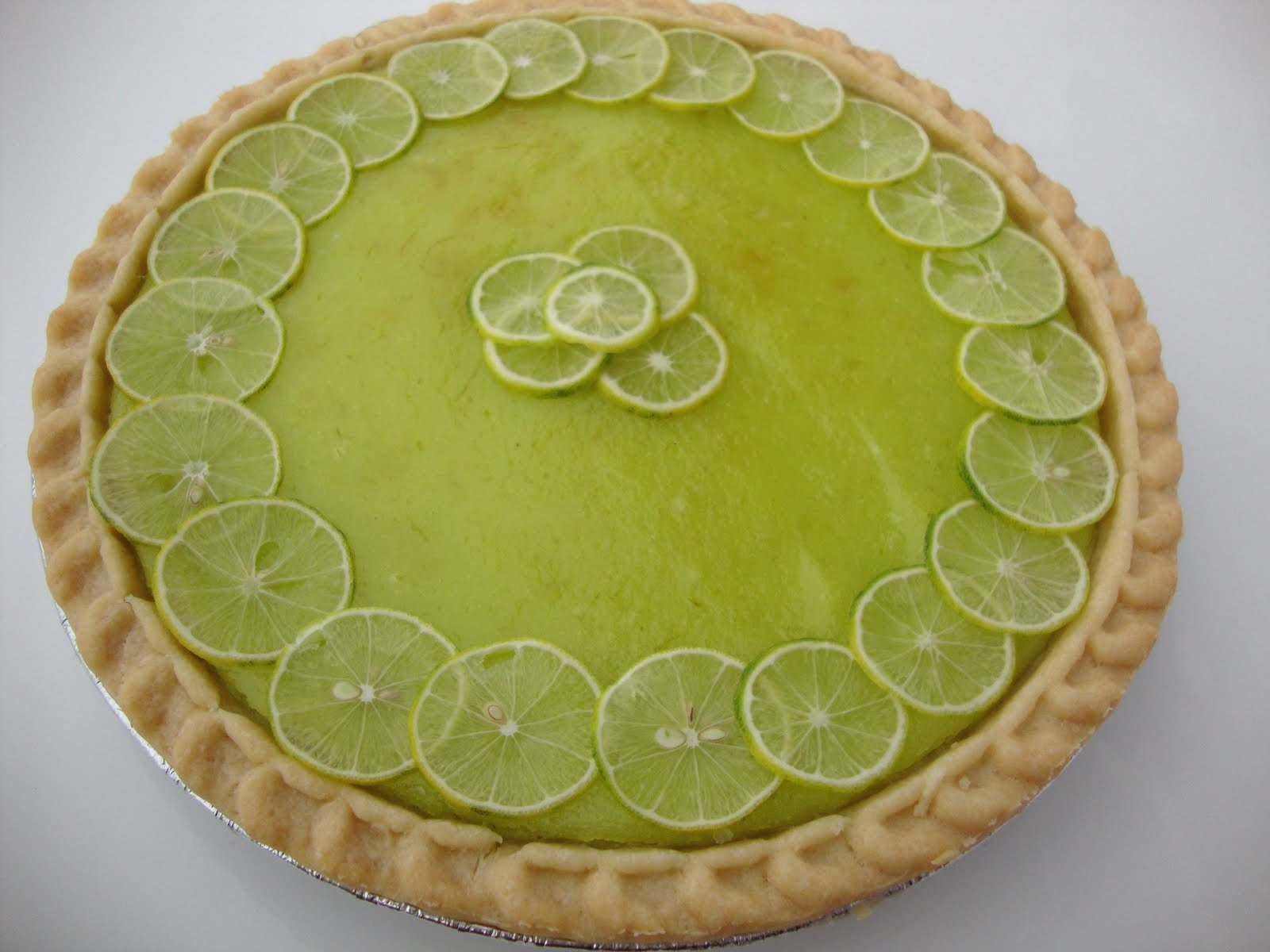 Recipe for Delicious: Key-lime-curd Pie