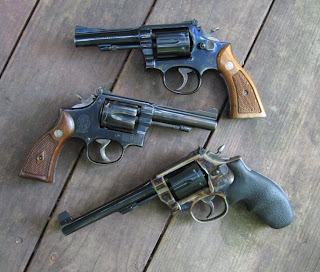 Smith & Wesson Model 15-3 Combat Masterpiece, Smith & Wesson K-38 Combat Masterpiece, Smith & Wesson Model 15-9 Heritage