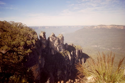 The Blue Mountains, Australia, July 2002